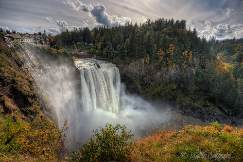 Snoqualmie Falls October Colors | by l.gallier