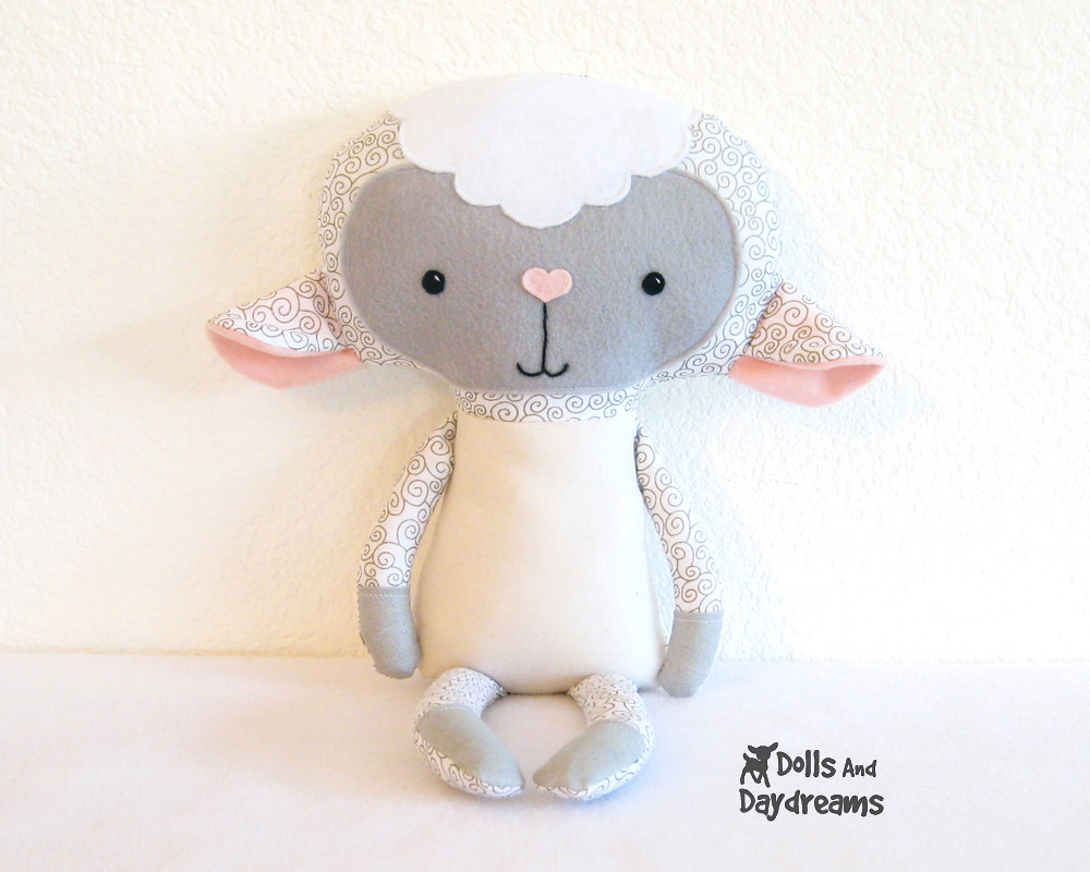 lamb sheep kawaii pdf sewing pattern 3 copy | Sarah | Flickr