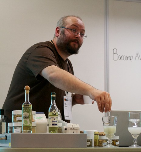 Billy does Absinthe Barcamp London | by spiritquest