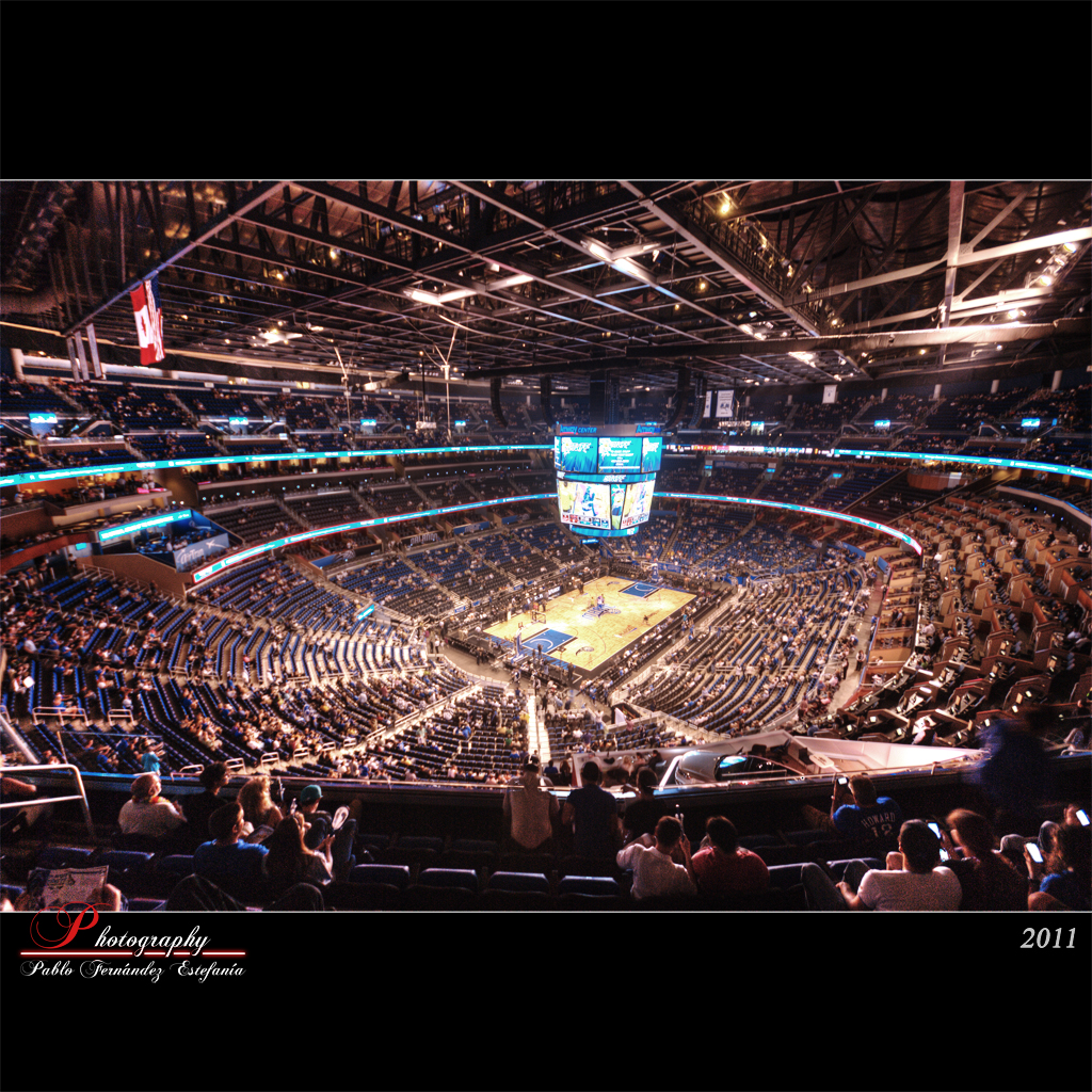 Amway Arena | View it on black Orlando Magic Home... We ...