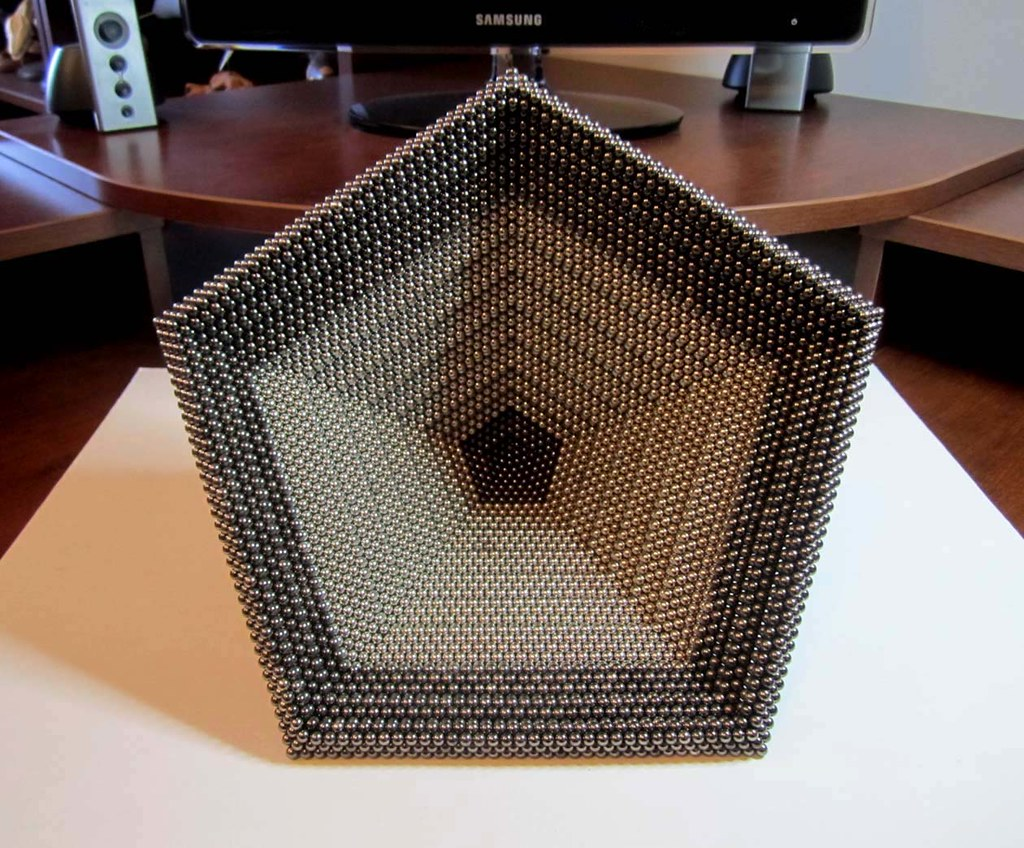 Twelve Step Pentagonal Pyramid 9450 Dots (2)   COCOAUB ...