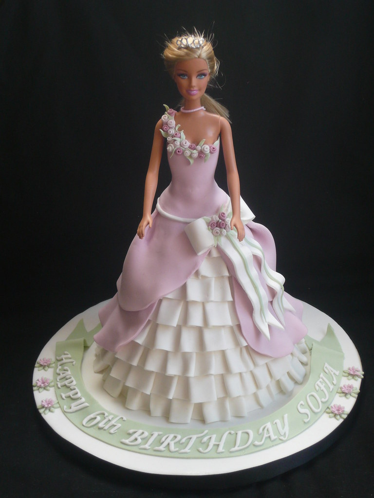Barbie Doll Princess Cake Sofia s Birthday Jayne ...