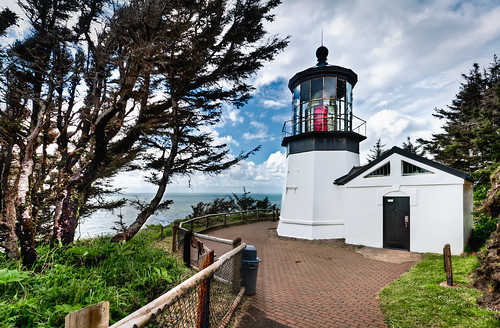 Panorama of Cape Meares Lighthouse | by Kay Gaensler