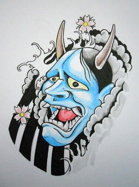 Hannya Mask Tattoo Style | Flickr - Photo Sharing!