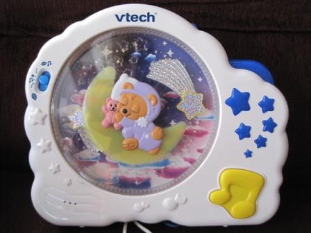 Ba64 Vtech Baby Sleep Bear Night Light Soothe Your