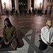 Meditators at Occupy Oakland before raid