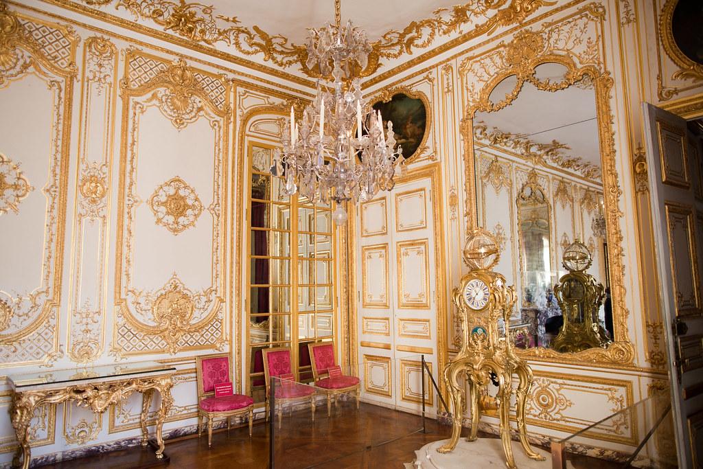 Le cabinet de la pendule ch teau de versailles flickr for Miroir french to english