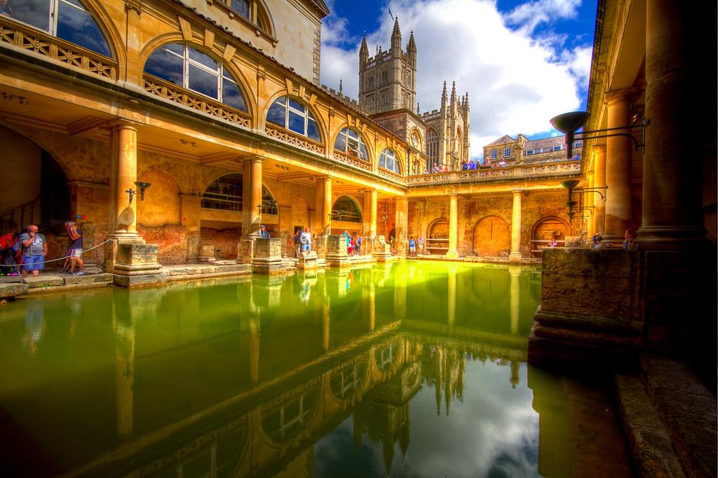 The Great Bath  Bath  England   by Moobyluvsme. The Great Bath  Bath  England   Back in England for a moment    Flickr