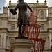 Sir Joshua Reynolds and Tatlin's Tower, Royal Academy of Arts, London