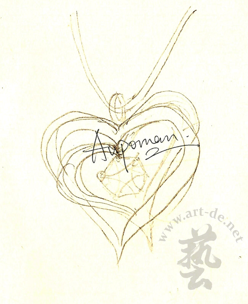 Jewelry-Design-Sketch -Pendant-1 | Jewelry Design Drawing (E… | Flickr
