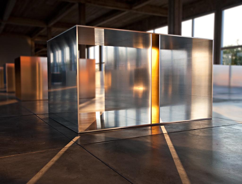 Donald Judd Box Taken At The Chinati Foundation