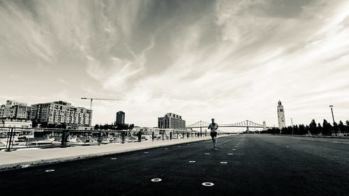 the lonesome runner | by stephane (montreal)