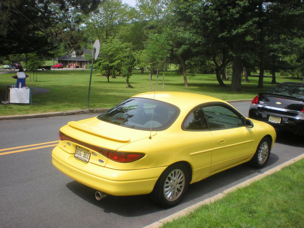 Yellow ford escort zx2 bug bee by smaginnis11565