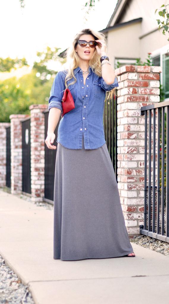 Flickr Maxi Dress