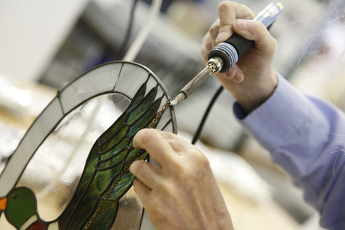 NAG Studio-Soldering | by Northern Art Glass