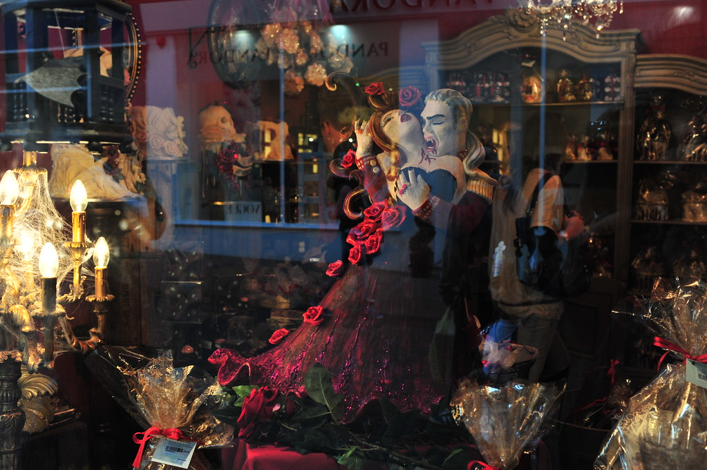 Choccywoccydoodah Halloween shop window display | Lord Cogsby | Flickr