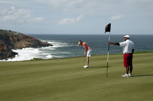Golf, Pinnacle Point Beach and Gold Resort, Garden Route, Western Cape Province, South Africa | by South African Tourism