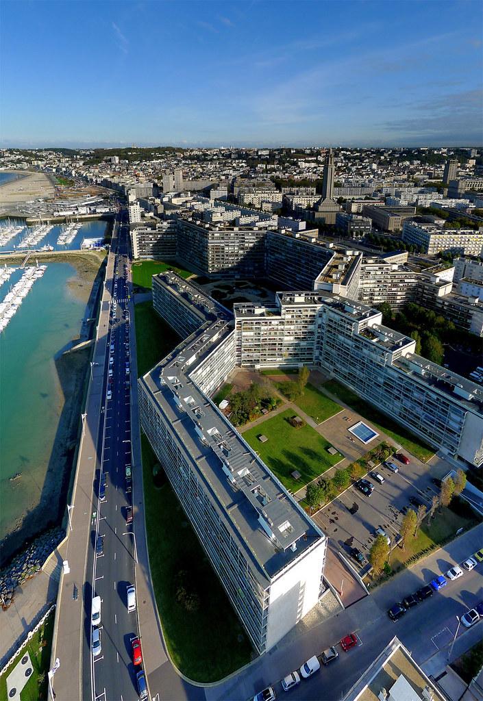 Le havre seine maritime fr le havre est situ e sur la for 3d architecture le havre