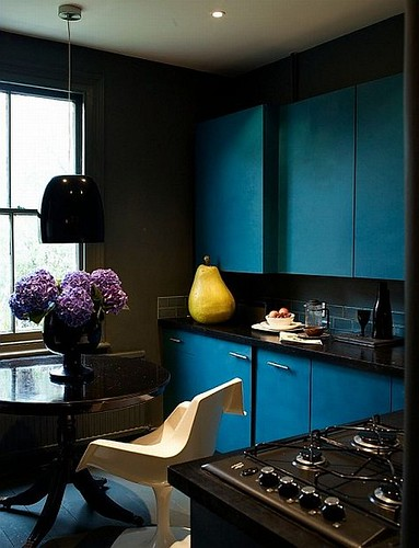 Blue KItchen | by Jessie {Creating Happy}