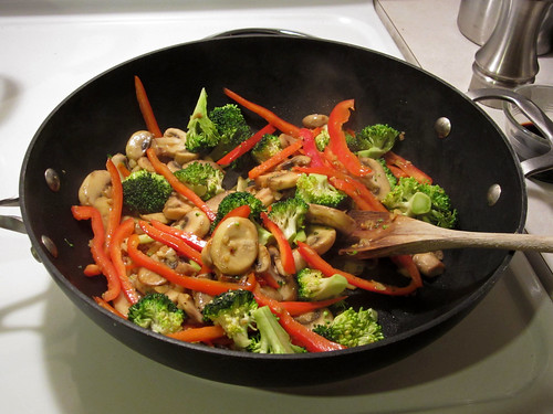 sautéing vegetables | by Madison Bistro