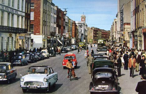 Connell Street Limerick 1960s | MajorCalloway | Flickr