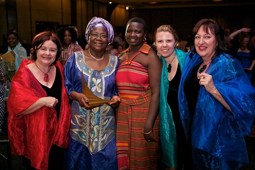 Guests with Africa Prize Laureate Florence Chenoweth | by The Hunger Project