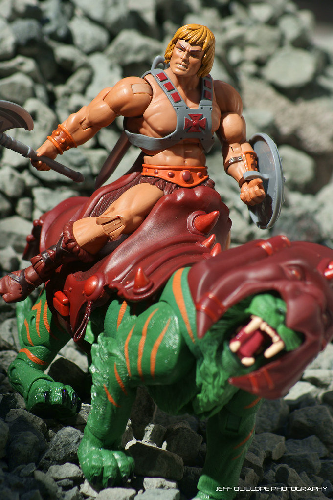 Masters of the Universe Classics He-Man and Battle Cat ...