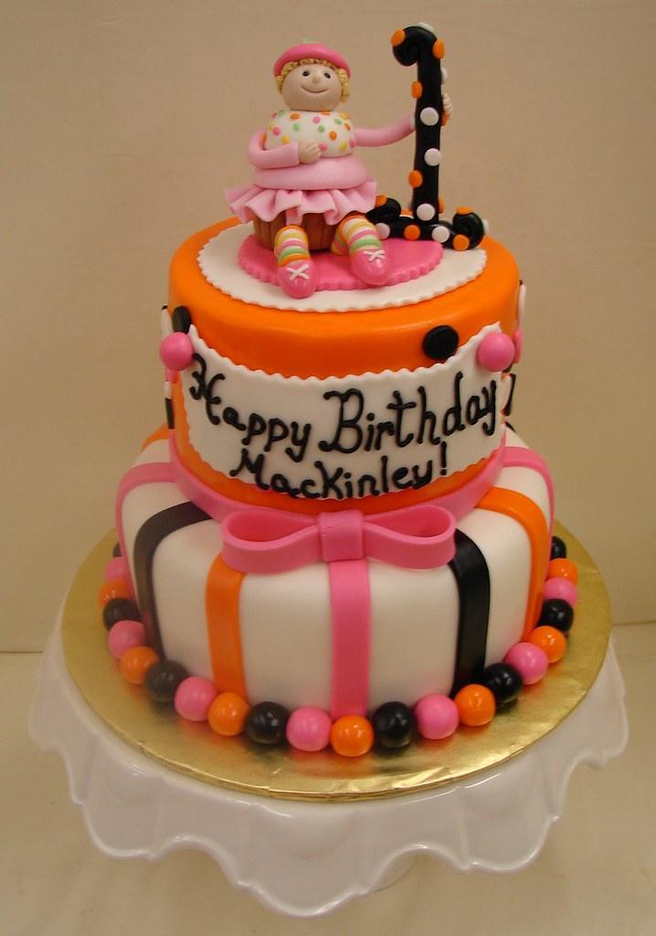 Whimsical Halloween Birthday Cake Whimsical Halloween Birt Flickr
