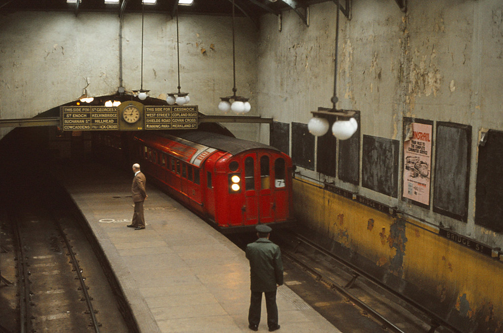 Glasgow Subway 1977 Bridge Street Outer Circle Glasgow