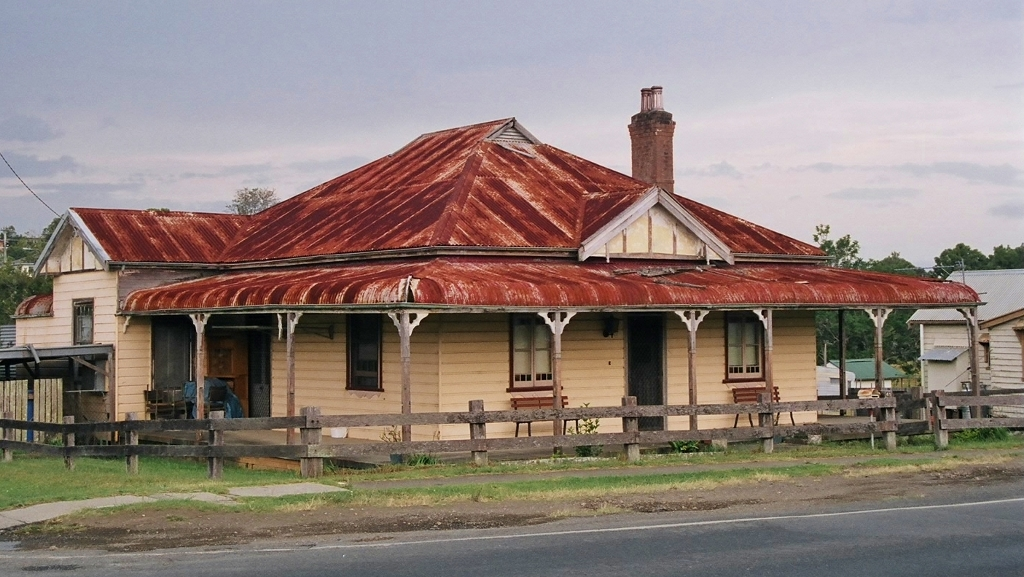 An Older Style Traditional House In Australia