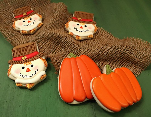 Scarecrow Cookies 2 | by SweetSugarBelle