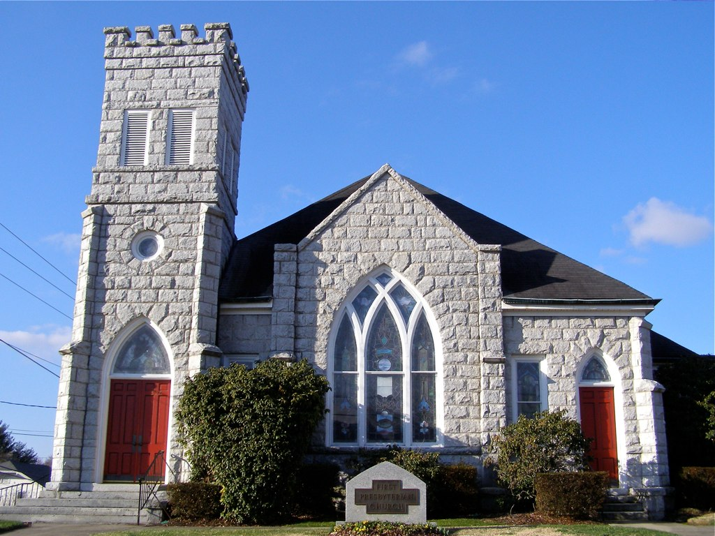 First Presbyterian Church Mt Airy Nc Granite Is The