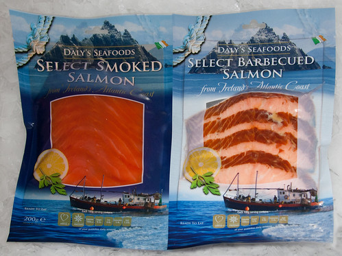 Salmon Package Barbecued Salmon Packaged