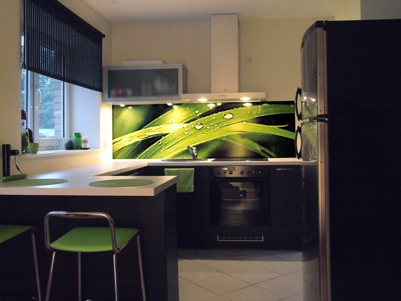 Grassblades Kitchen Splashback Vinyl Kitchen Splashback
