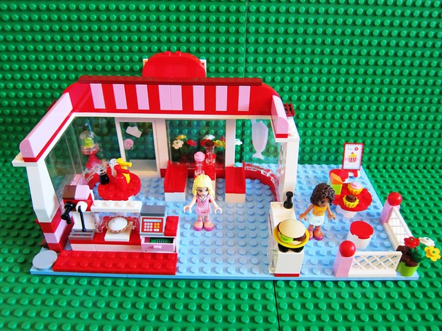 Lego Friends City Park Cafe 3061 2 | Flickr - Photo Sharing!