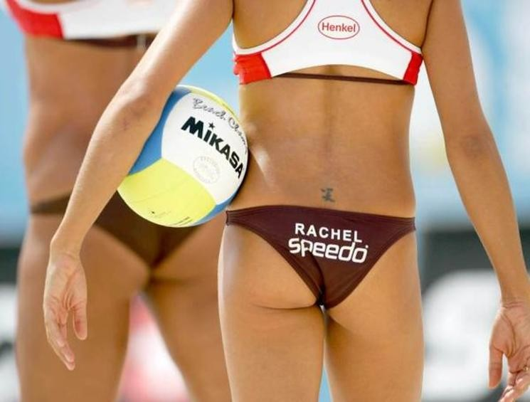 Women S Beach Volleyball Team