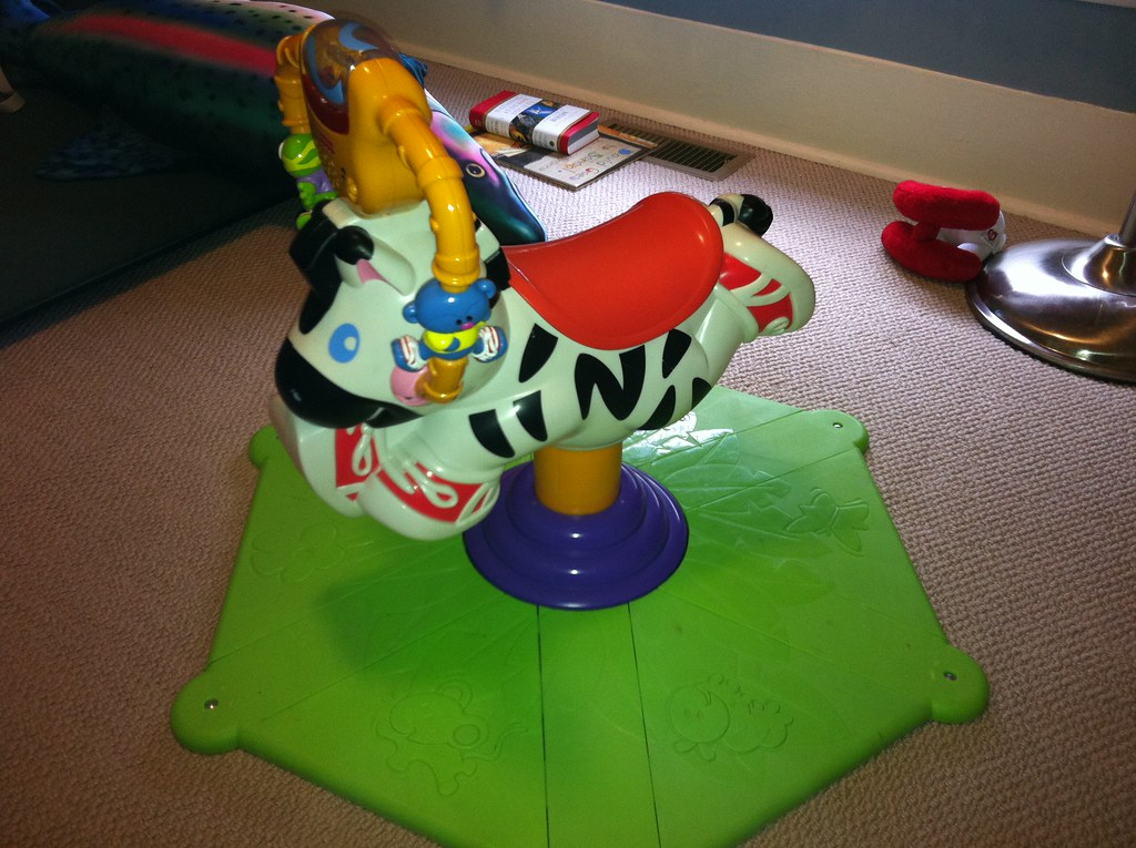 fisher price bounce and spin zebra instructions