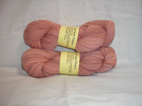 Fearless Fibers Antique Rose Merino Lace yarn | by violinspinner