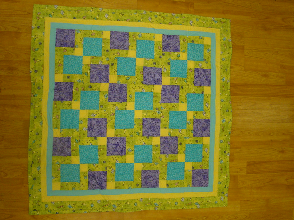 Fractured Nine Patch Gotta Love A Quilt You Can Whip Up