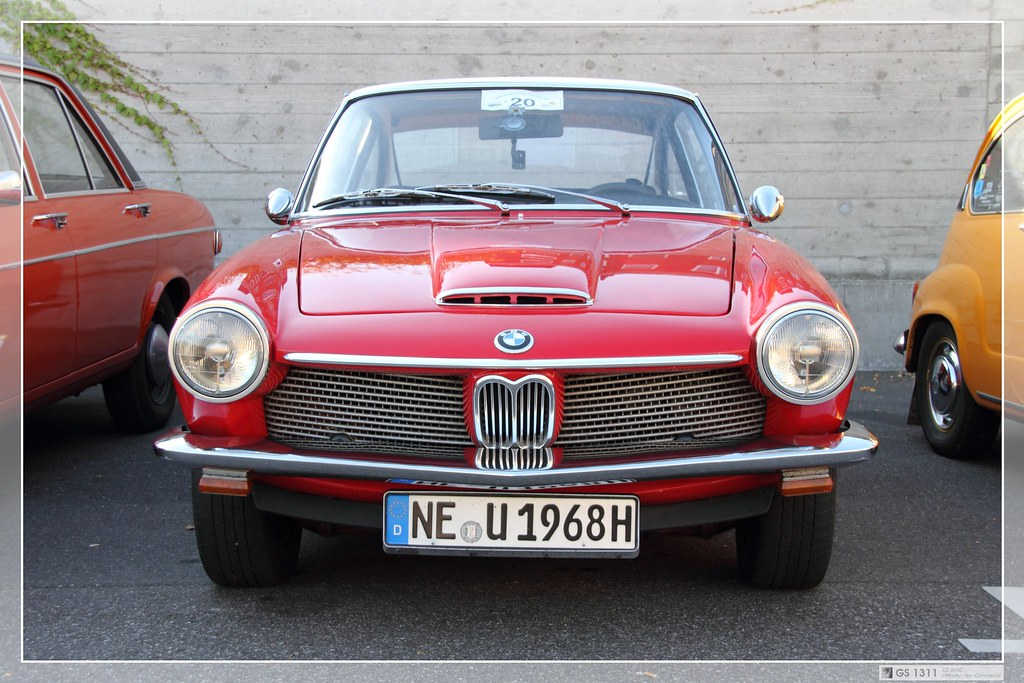 1967 1968 Bmw 1600 Gt 03 Glas Were Known For Small