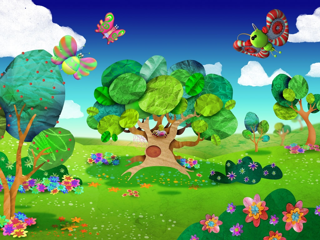 creacion y dise o de los personajes del el jardin de clari