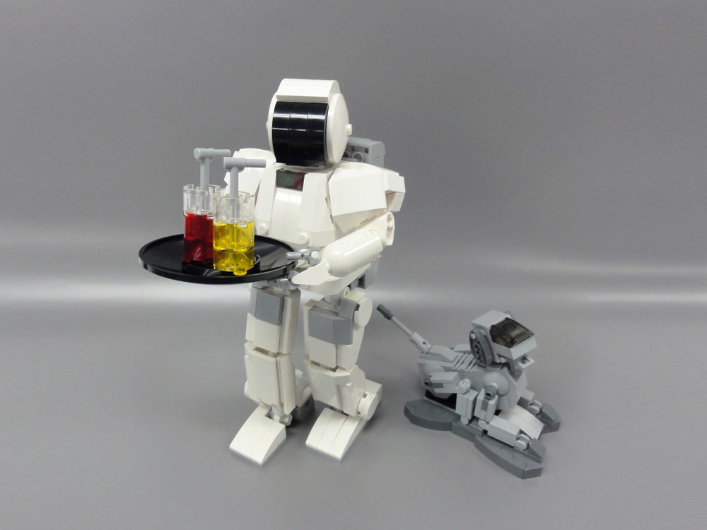 Lego Asimo And Aibo 02 This Is My Lego Idea And Creation