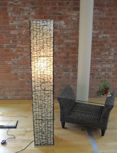 Floor standing rattan lamp this floor lamp will compliment flickr floor standing rattan lamp by alfresia aloadofball Images