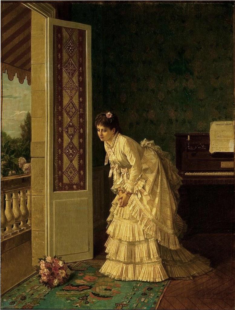 Auguste Toulmouche The Bouquet Regina Mendonca Flickr