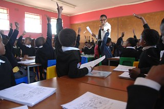 Classroom, Mzomhle Junior Secondary School, Eastern Cape Province, South Africa | by U.S. Fund for UNICEF