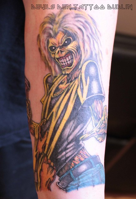 Iron maiden killers tattoo flickr photo sharing for Tattoo shops dublin
