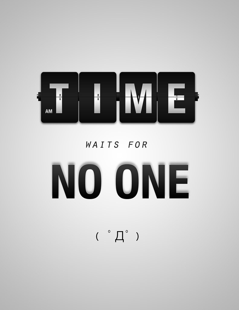 time waits for no one | jen el...