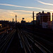 Long Island City Railyard at Sunset - Queens, NYC