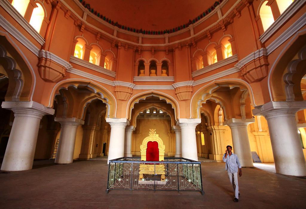 Thirumalai Nayakkar Mahal Interior Madurai Mahesh