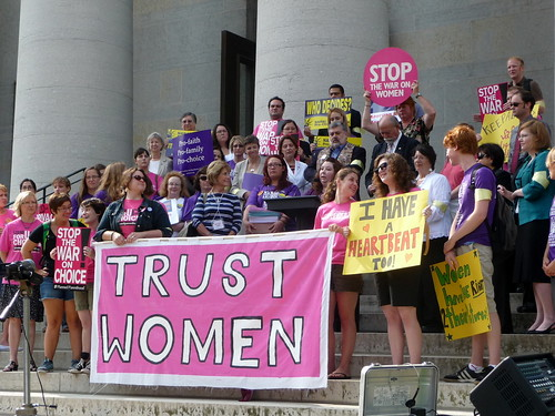 Rep. Antonio and Others Stands Up for Womens' Rights | by ProgressOhio